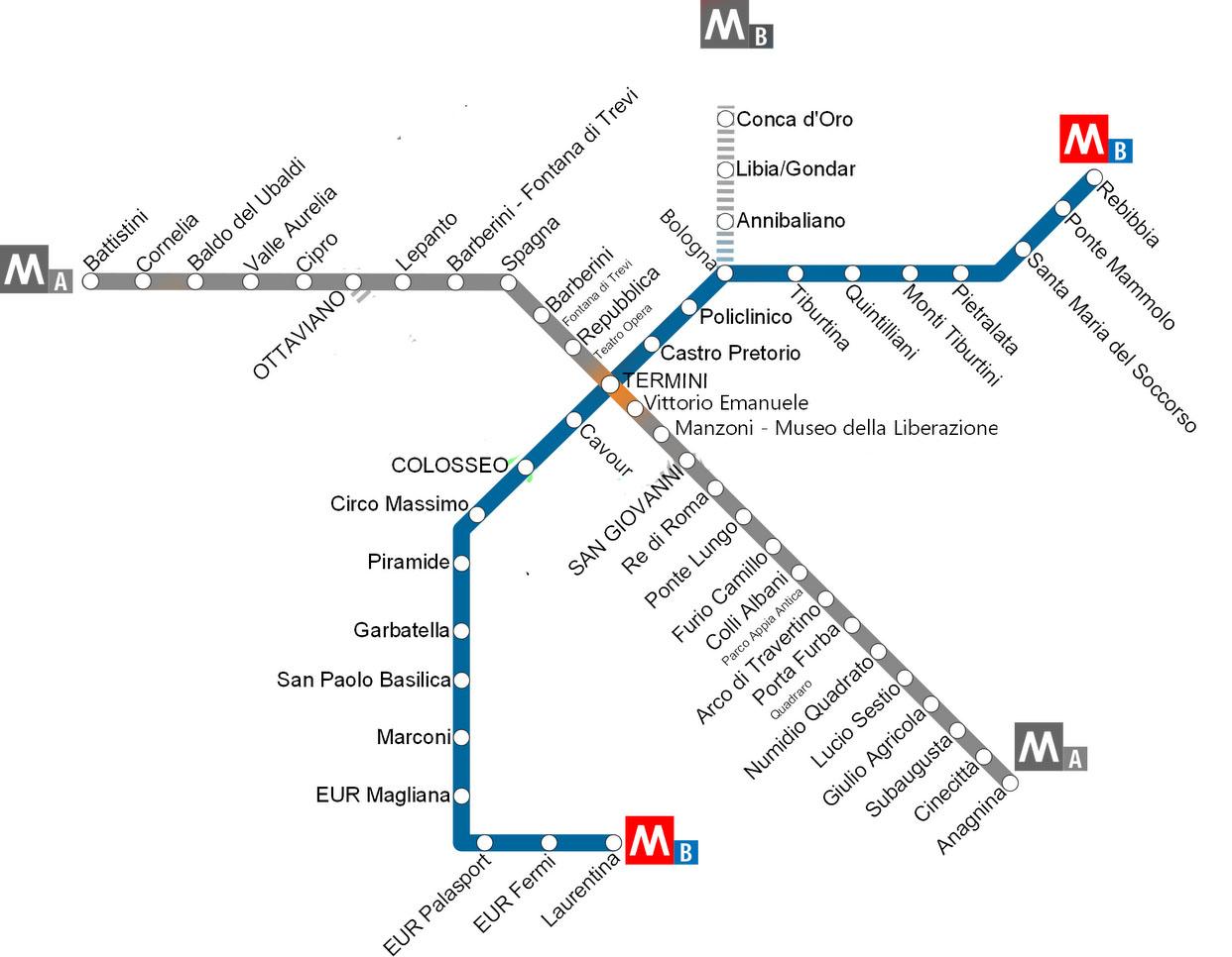 roma metropolitana linea blu salerno - photo#6