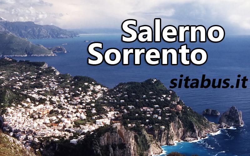 Salerno Sorrento orari autobus