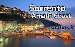 Sorrento Amalfi Coast bus timetable