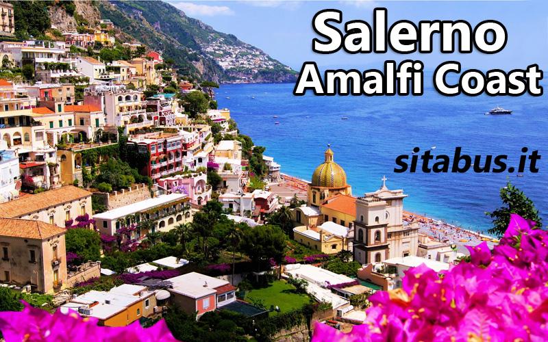 Salerno Amalfi Coast bus timetable