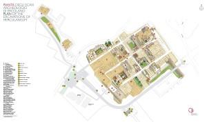 Mappa Scavi Ercolano