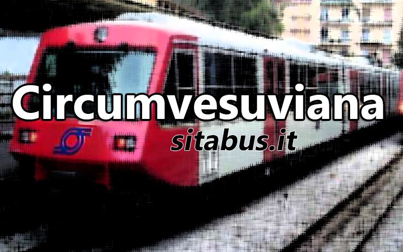 Circumvesuviana timetables and rates Sitabusit