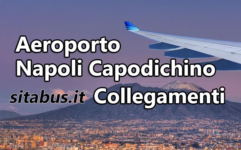 Aeroporto Capodichino : Aeroporto di napoli capodichino collegamenti sitabus