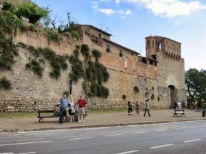 San-Gimignano bus stop