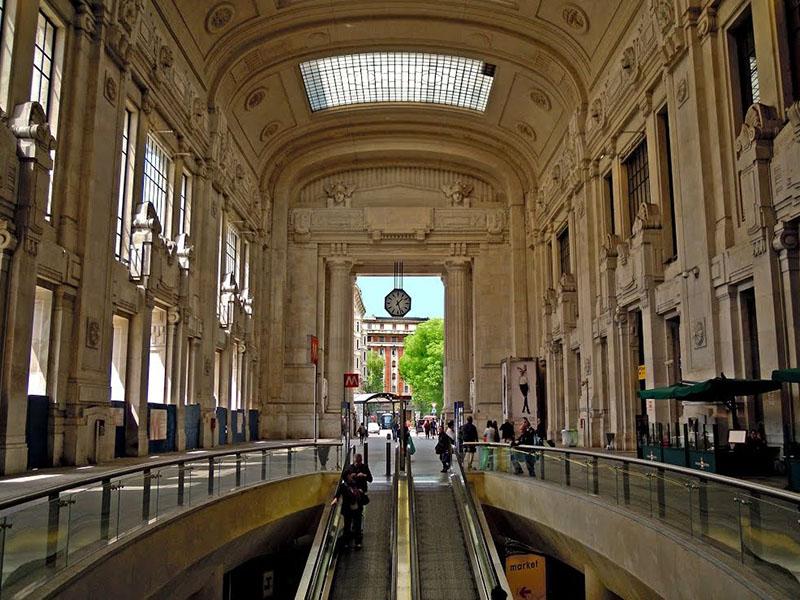 Ingresso Metro Stazione Centrale Milano