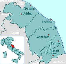 marche mappa regioni