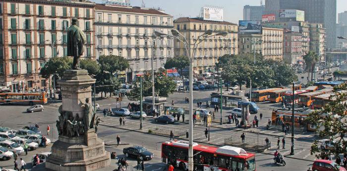 Stazione di Napoli Centrale - Sitabus.it